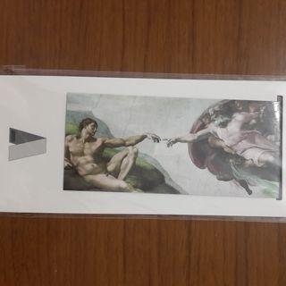 米開朗基羅磁鐵書籤-創世紀