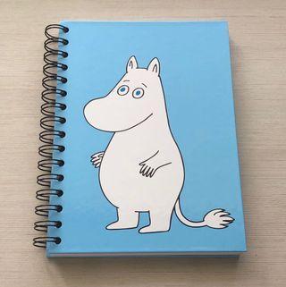 🚚 MOOMIN Hardcover Ring Notebook