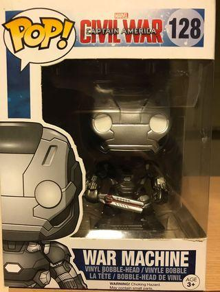 Funko Pop Marvel Captain America Civil War - War Machine