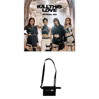 [🇲🇾GROUP ORDER] BLACK PINK KILL THIS LOVE OFFICIAL MERCHANDISE [WAIST BAG]