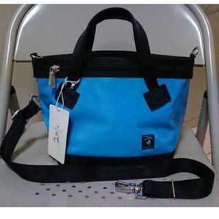 全新 藍色 Porter lead xs 托特包 手提包 側背包 斜背包 Porter 包 XS (luxy skittles