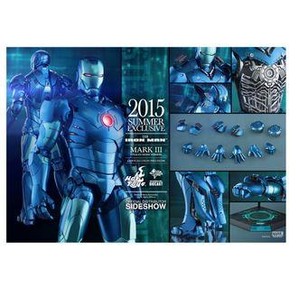 Hot Toy Stealth Mode Ironman Mark 3 Exclusive New