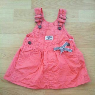 Oshkosh Overall Dress 6M