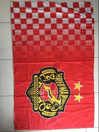Kelantan The Red Warriors Flag