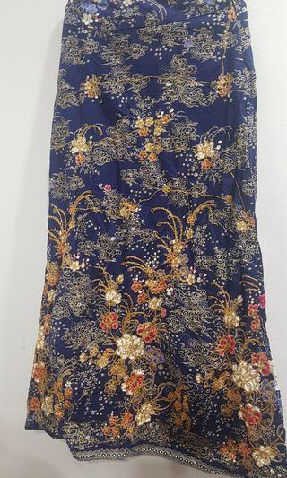 Batik Embroidered Skirt #ramadan75