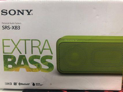 Sony SRS XB3