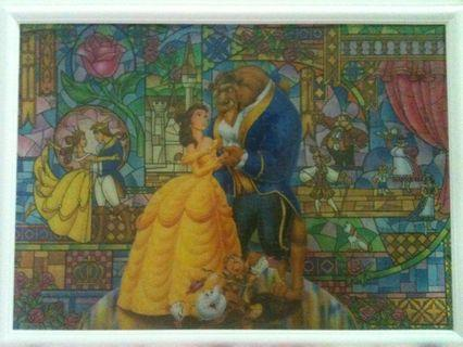 Disney Stained Art Jigsaw Puzzle 315 pieces Beauty and the Beast