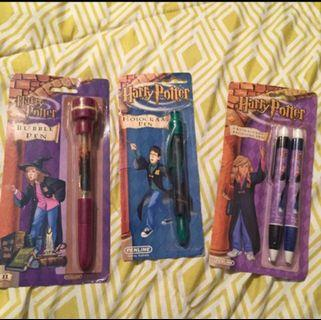 Discontinued Harry Potter Pens (rare)