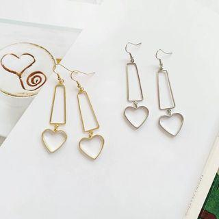 Dangling Heart Fashion Earring