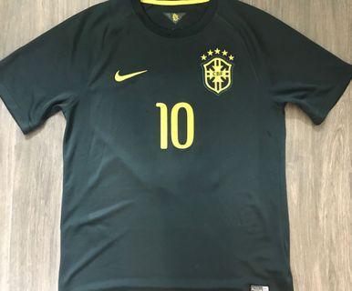 巴西Neymar尼馬波衫球衣L 二手