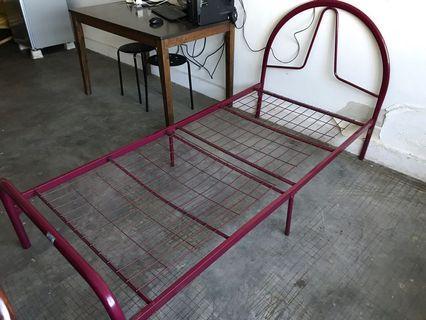 Single Tier Steel Bed