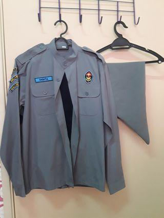 Scout Uniform Set Uniform Pengakap