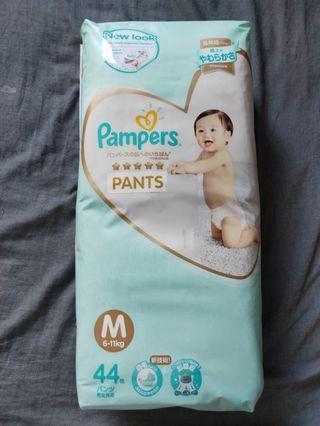 Pampers premium care diaper pants (Size M)