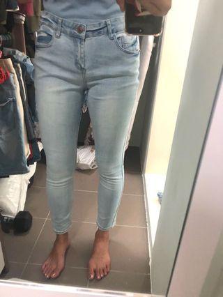 cottonon anklegrazer jeans