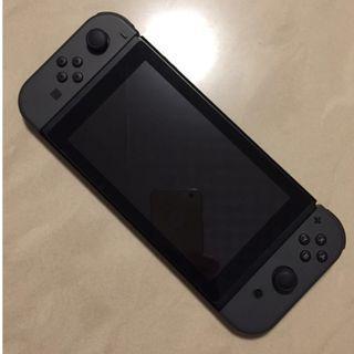 手提 電視 遊戲機 Switch 灰色 任天堂 Nintendo 9成9極新淨 全機無花無痕 100% 全正常 跟內置正版GAME 大亂鬥 Overcooked