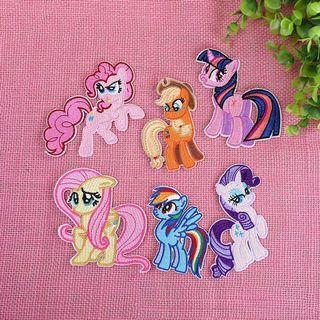 my little pony patches !!