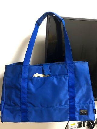 Head porter blue tote bag Made in Japan 上膊/手提/防水
