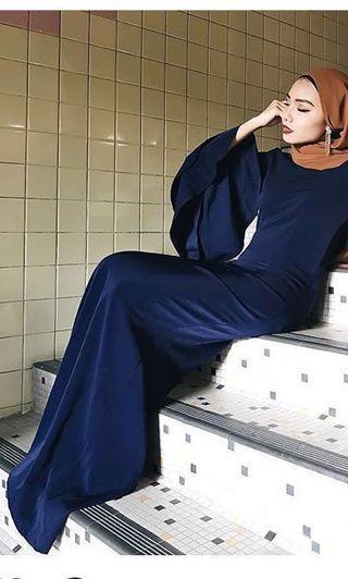 RENT - PETRA RTW Cara Dress ( Dark Blue )