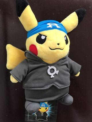 Villain Pikachu Team Aqua