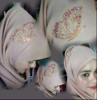 Bawal crown butterfly