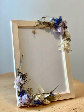 🚚 Dried And Preserved Flower Photo Frame