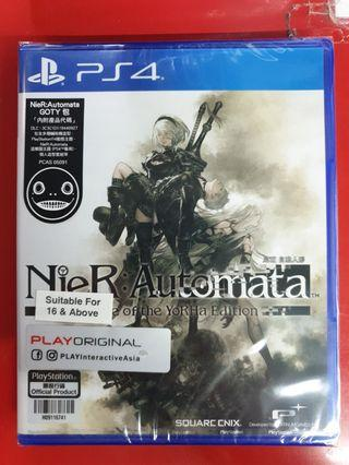 Brand New Nier Automata Game Of The Year