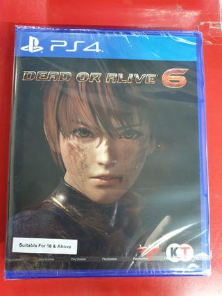 Brand New PS4 Dead Or Alive 6
