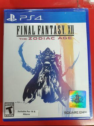 Brand New PS4 Final Fantasy XII The Zodiac Age