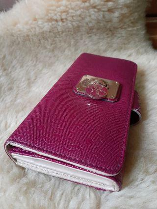 Guess wallet pink