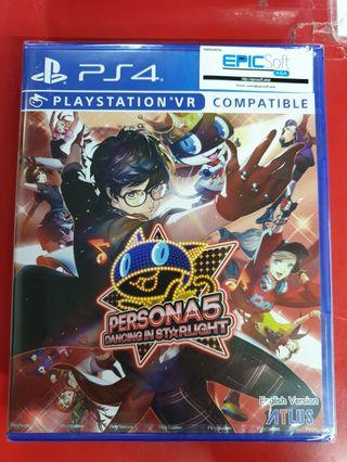Brand New PS4 Persona 3/5 Dancing