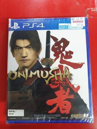 Brand New PS4 Onimusha Warlord