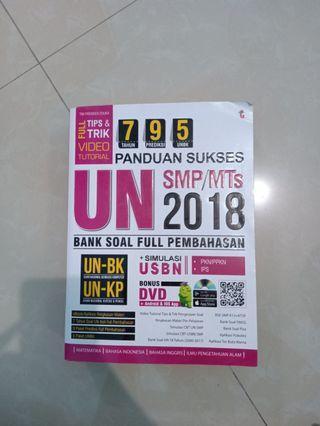 Buku  unas SMP 2018