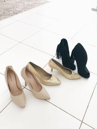 size 38-39 preloved heels