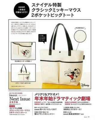 Mickey Mouse Magazine Tote Bag