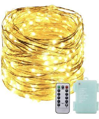 Battery operated String lights with remote control