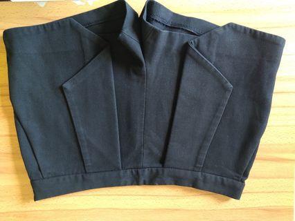 Celana Pendek Hitam Zara Size M #mauvivo