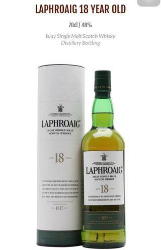 Bundle Deal🤩double fun Laphroaig 18yrs old & Dalmore Valour