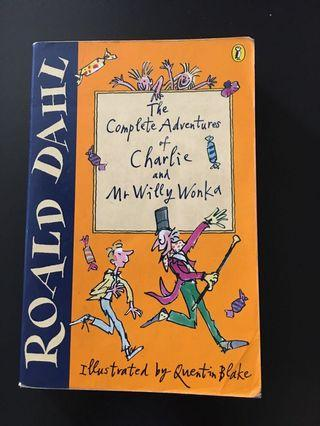 🚚 Roald Dahl Books The Complete Adventures of Charlie and Mr Willy Wonka