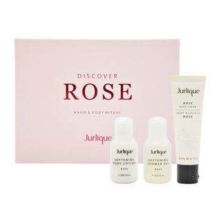最後一盒 Jurlique Discover Rose Hand & Body Ritual Gift Set (3piece)玫瑰柔膚體驗套裝