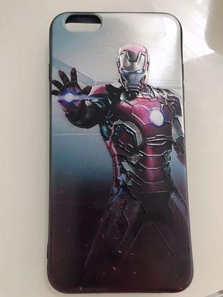 Ironman CASING 3D (for iphone 6splus/6plus only)