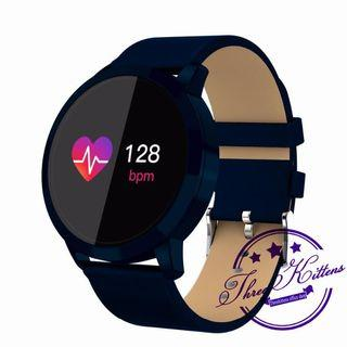 #Ramadan75 Q8 Smartwatch Call Reminder Blood Pressure Heart Rate WaterProof