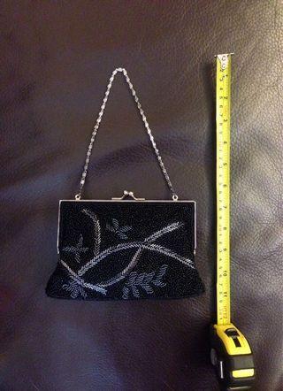 Vintage look beaded bag