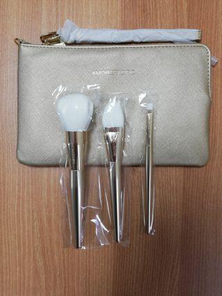 (全新) Amorepacific 化妝掃套裝 3支連化妝袋