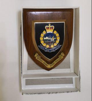 回歸前警界7吋徽章
