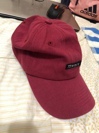 Black Vin酒紅棒球帽❤️#運費半價
