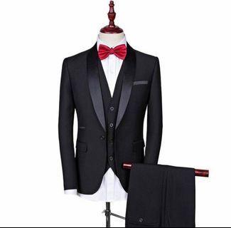 3 pc formal attire/tuxedo (Jacket/Pants/Vest)