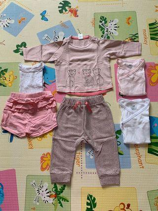 H&M baby clothes (4-6 months)