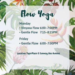 Flow Yoga Class