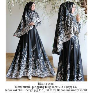 Jubah set elegance muslimah