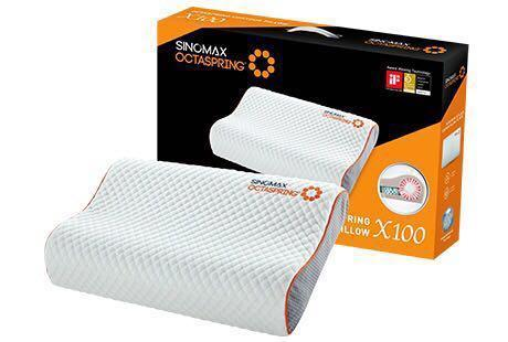 100% new Sinomax OCTASPRING® Contour Pillow X100